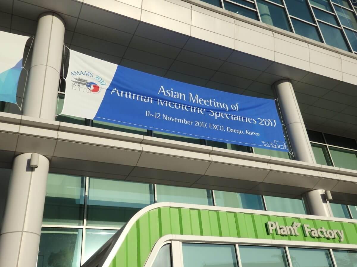 アジア 獣医学会 韓国